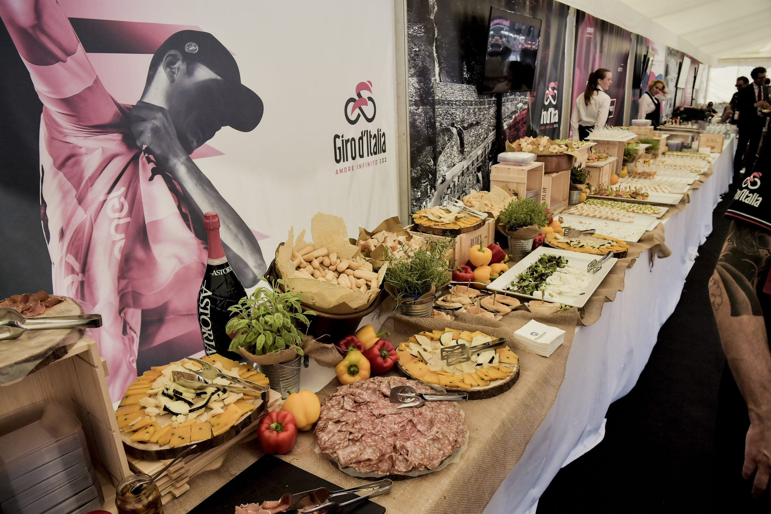 Lounge - Grande Arrivo Giro d'Italia Milano