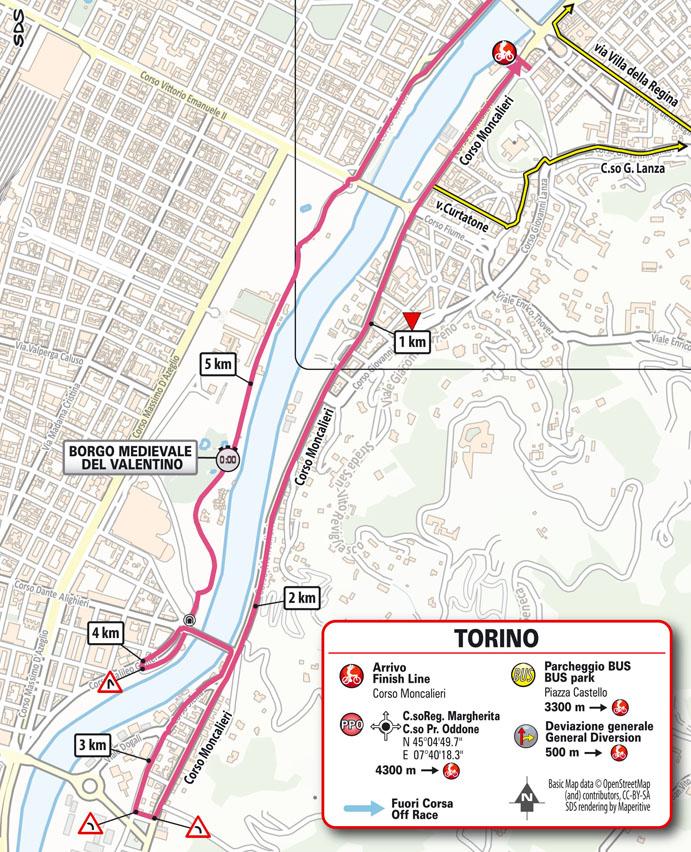 Salida Etapa 1 Giro d'Italia 2021 Torino Torino TISSOT ITT