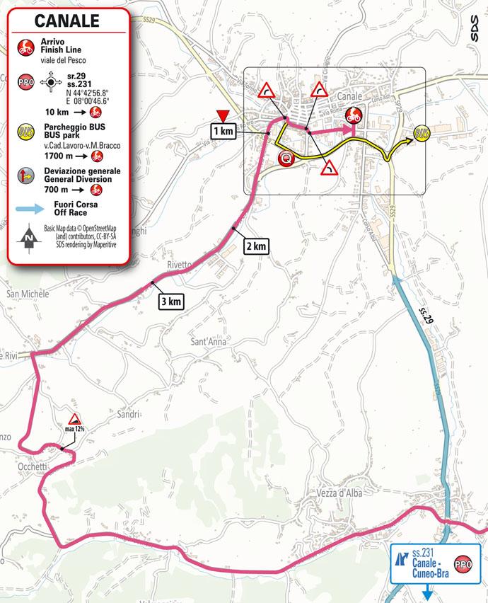 Llegada Etapa 3 Giro d'Italia 2021 Biella Canale