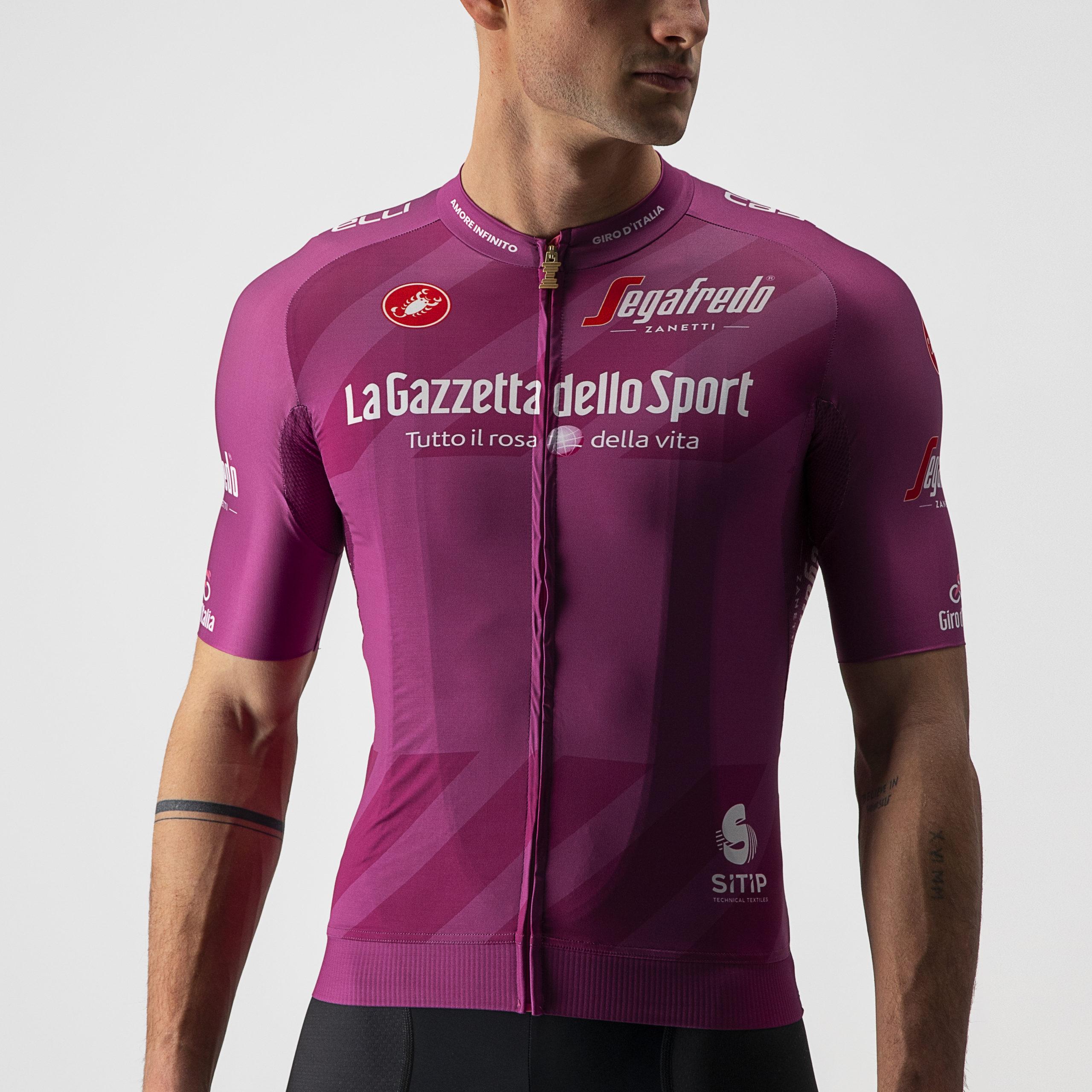 Maglia ciclamino Giro d'Italia 2021