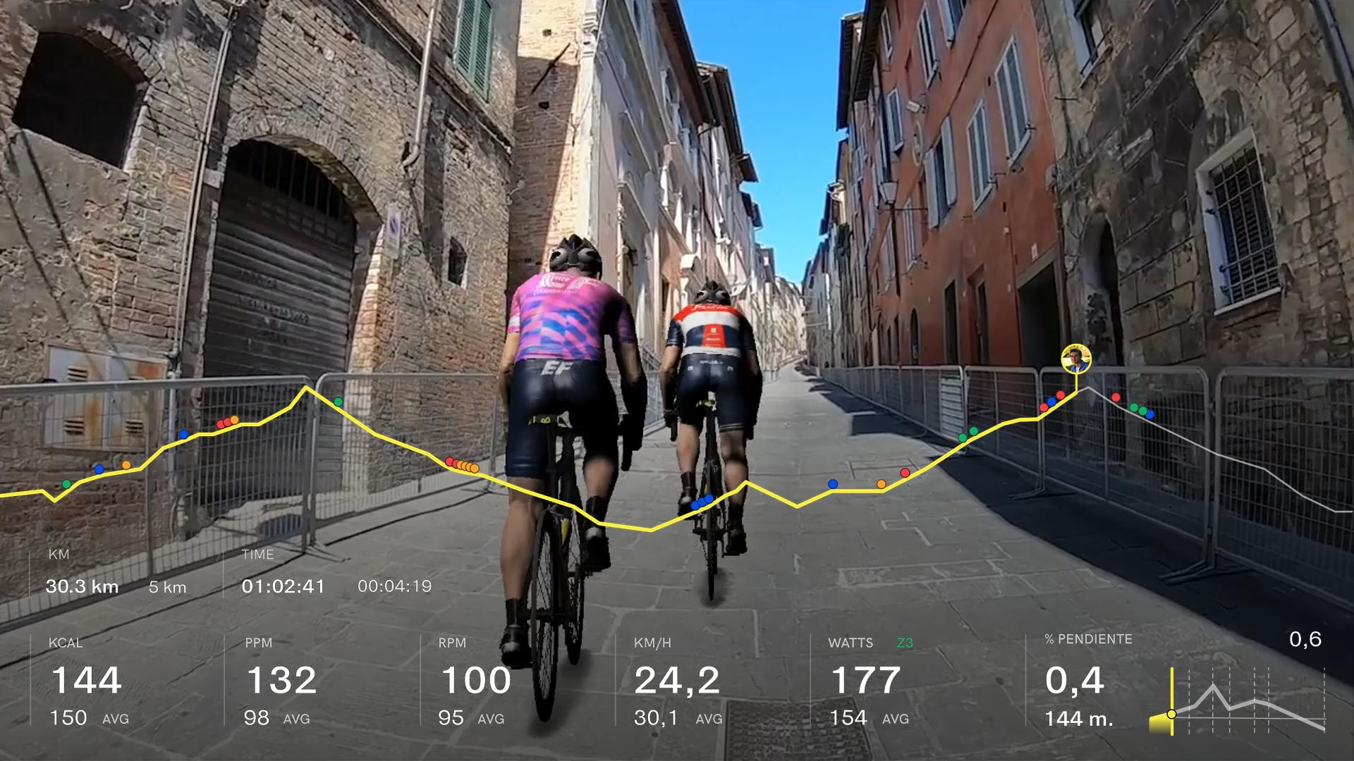 Il Giro d'Italia Virtual prenderà il via in autunno su BKOOL