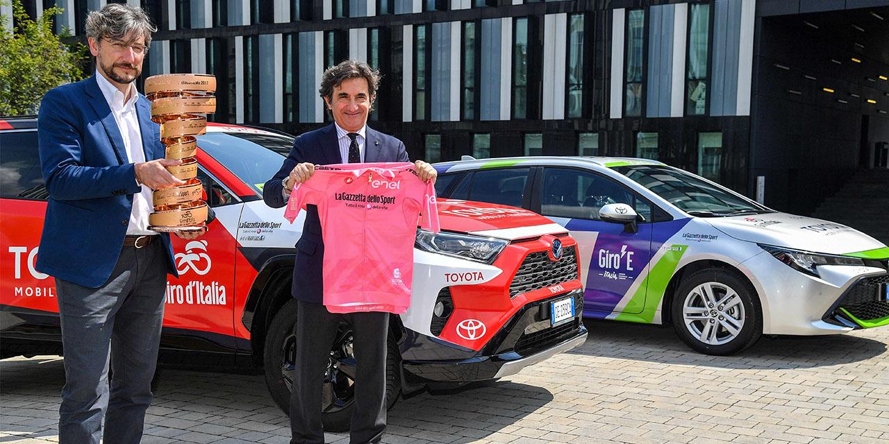 Toyota sarà l'auto ufficiale del 104^ Giro d'Italia