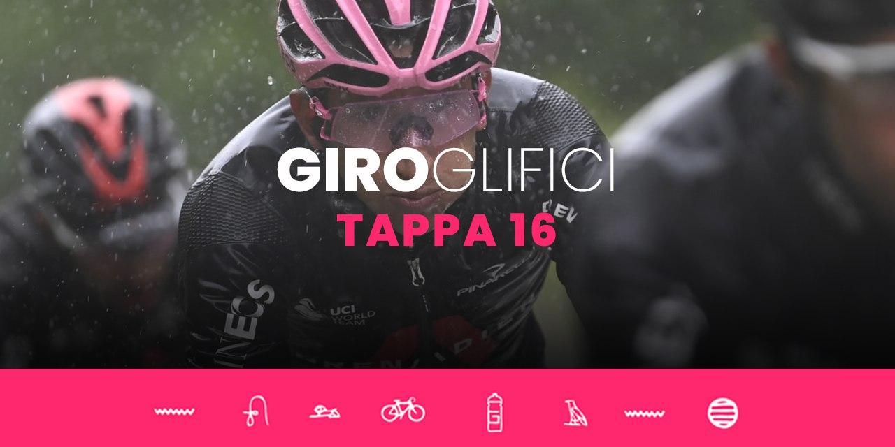 GIROglifici 2021, il podcast ufficiale del Giro d'Italia: Tappa 16