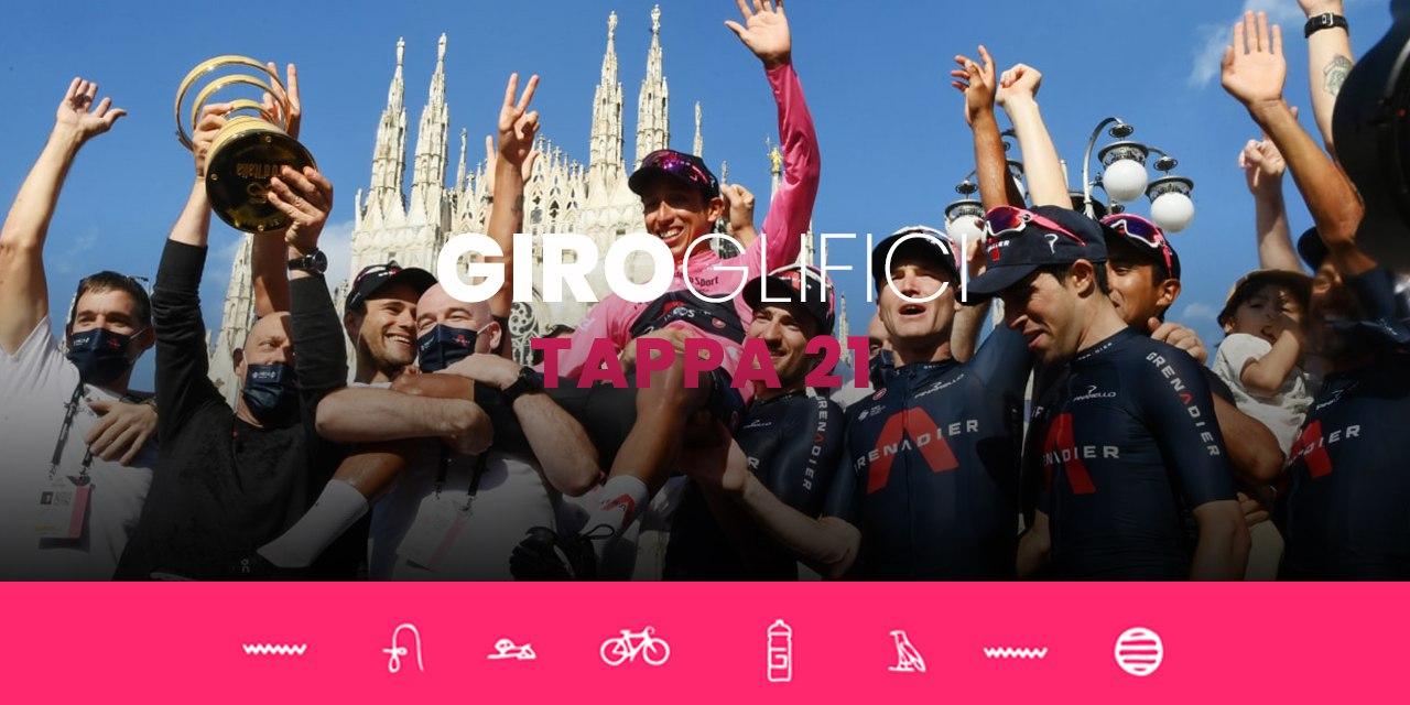 GIROglifici 2021, il podcast ufficiale del Giro d'Italia: Tappa 21