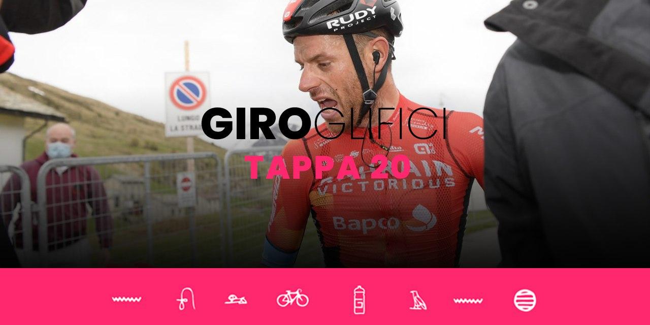 GIROglifici 2021, il podcast ufficiale del Giro d'Italia: Tappa 20