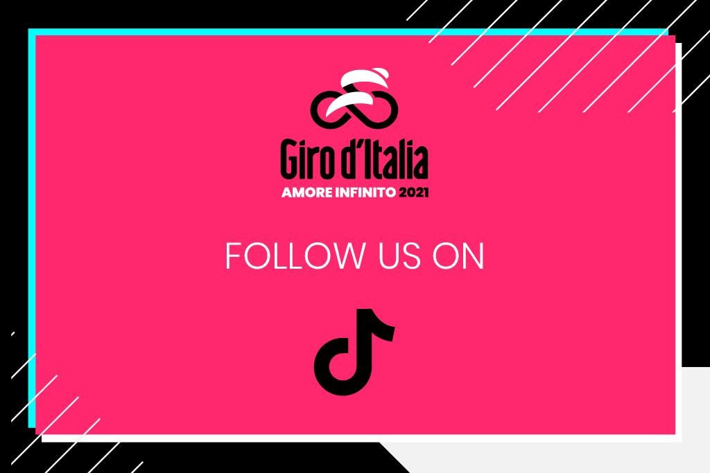 Il Giro d'Italia è anche su TikTok: @giroditalia.