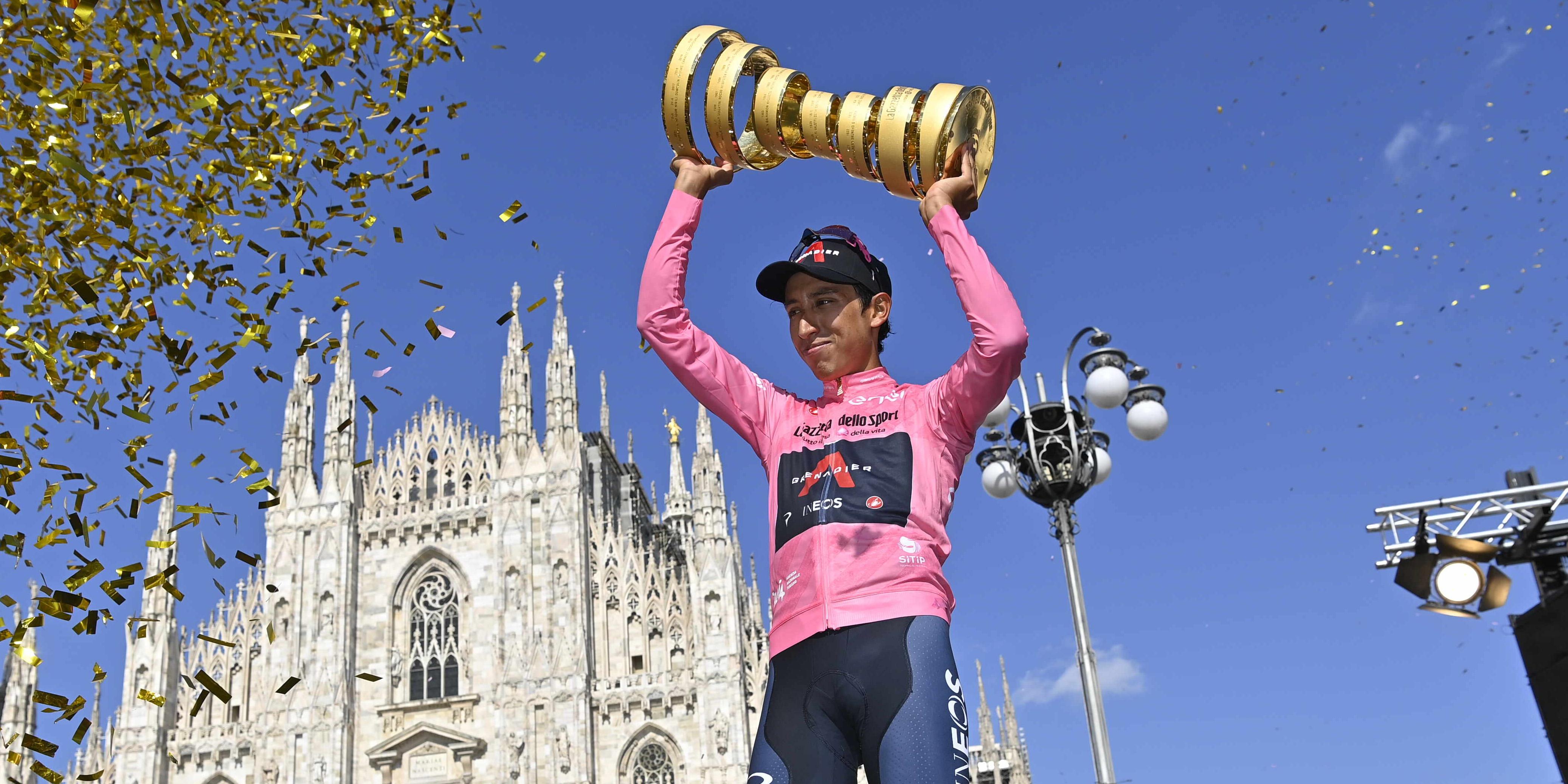 Egan Bernal, Salire a le stelle- Tappa 21 del Giro d'Italia 2021